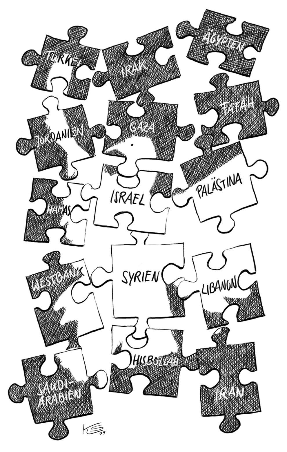 Výsledek obrázku pro Karikaturen Syrien