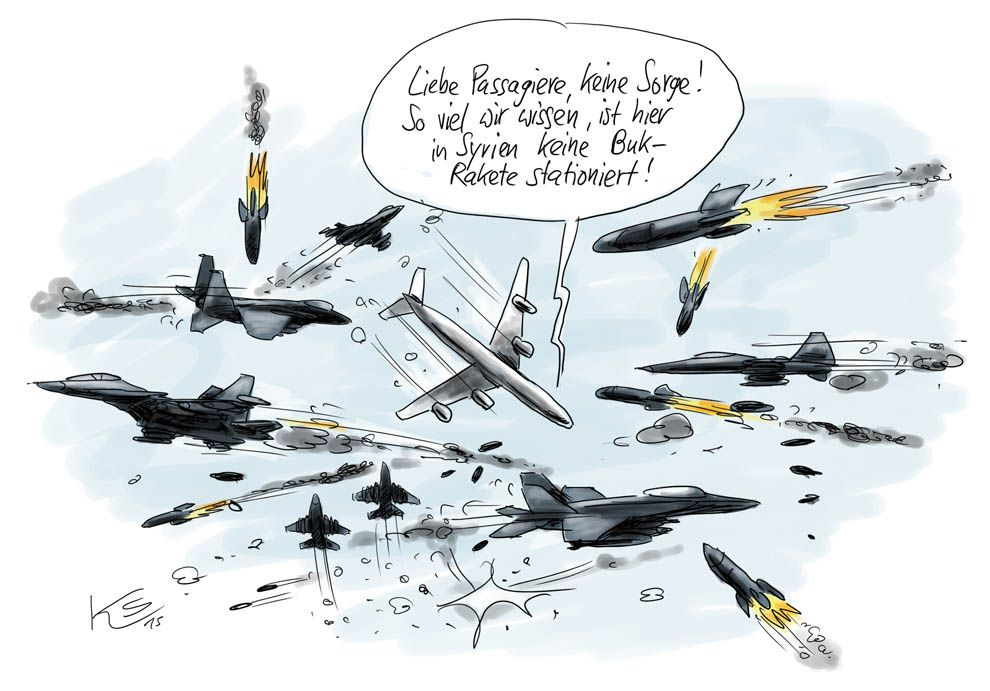 Karikatur vom 13.10.2015