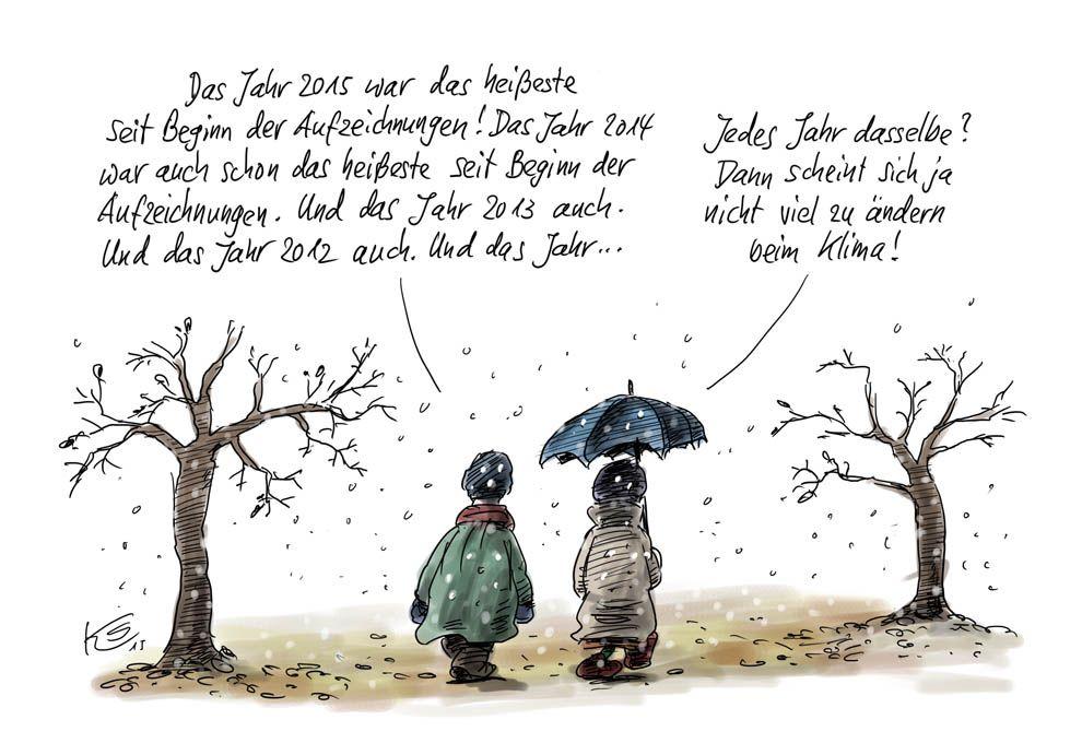Karikatur vom 25.11.2015