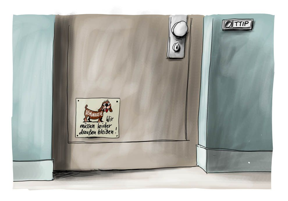 Karikatur vom 09.10.2015