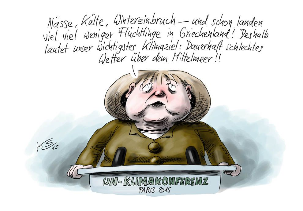 Karikatur vom 27.11.2015