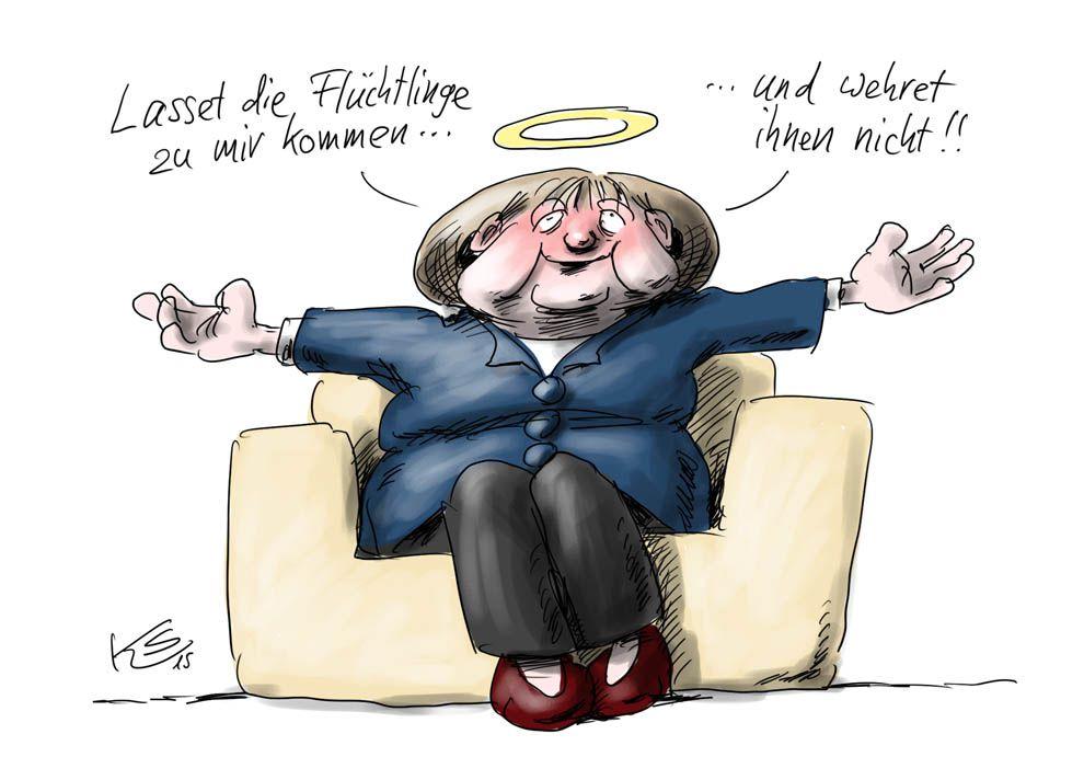 Karikatur vom 08.10.2015