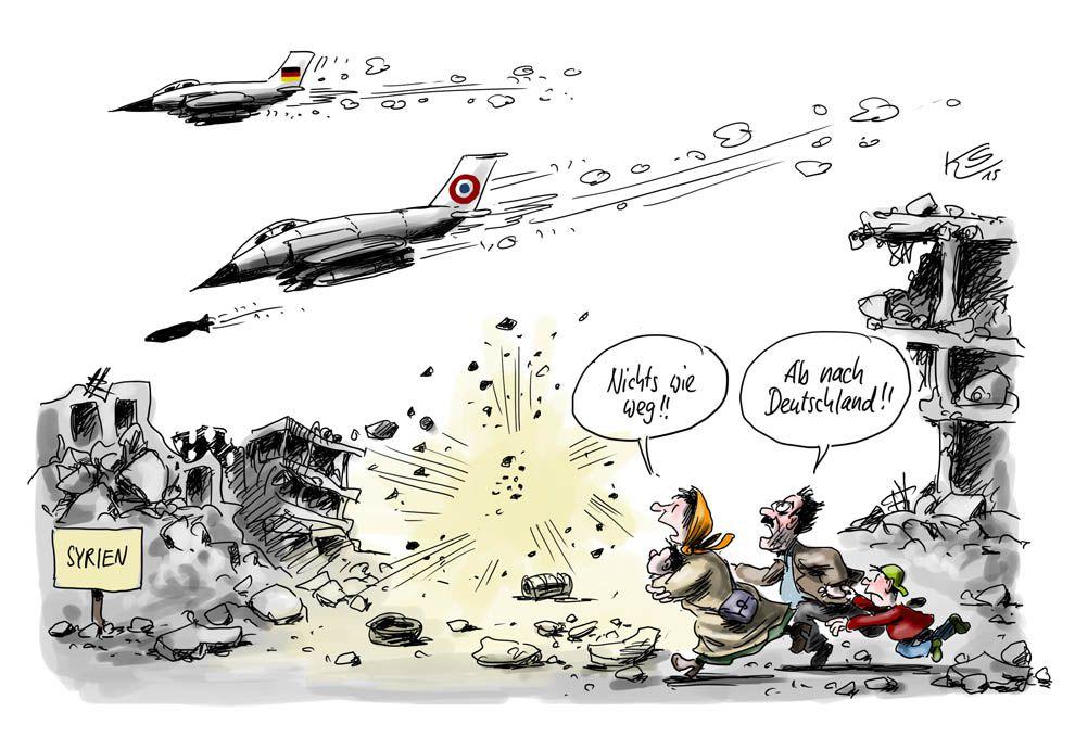 Karikatur vom 01.12.2015