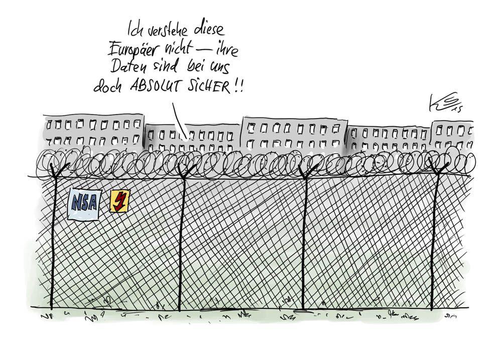 Karikatur vom 07.10.2015