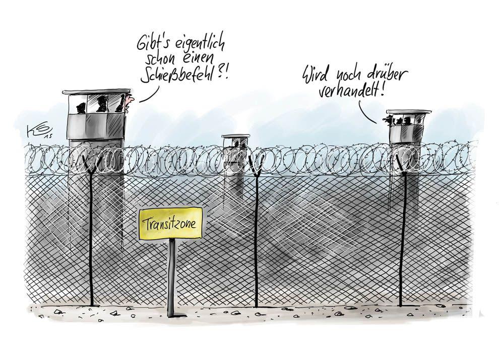 Karikatur vom 12.10.2015
