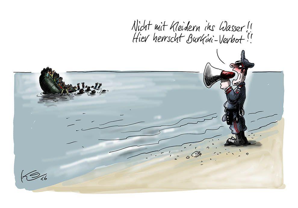Karikatur vom 18.08.2016