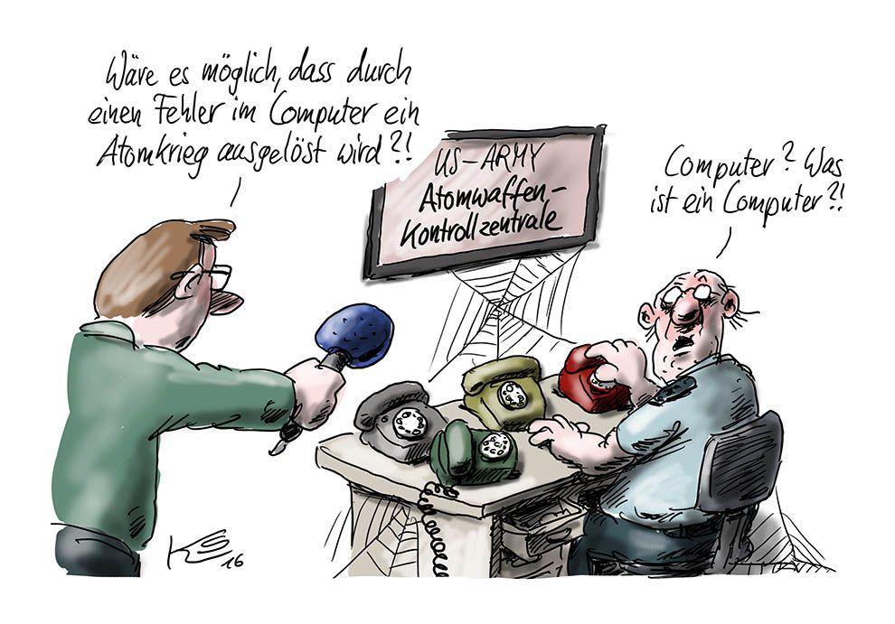 Karikatur vom 26.05.2016