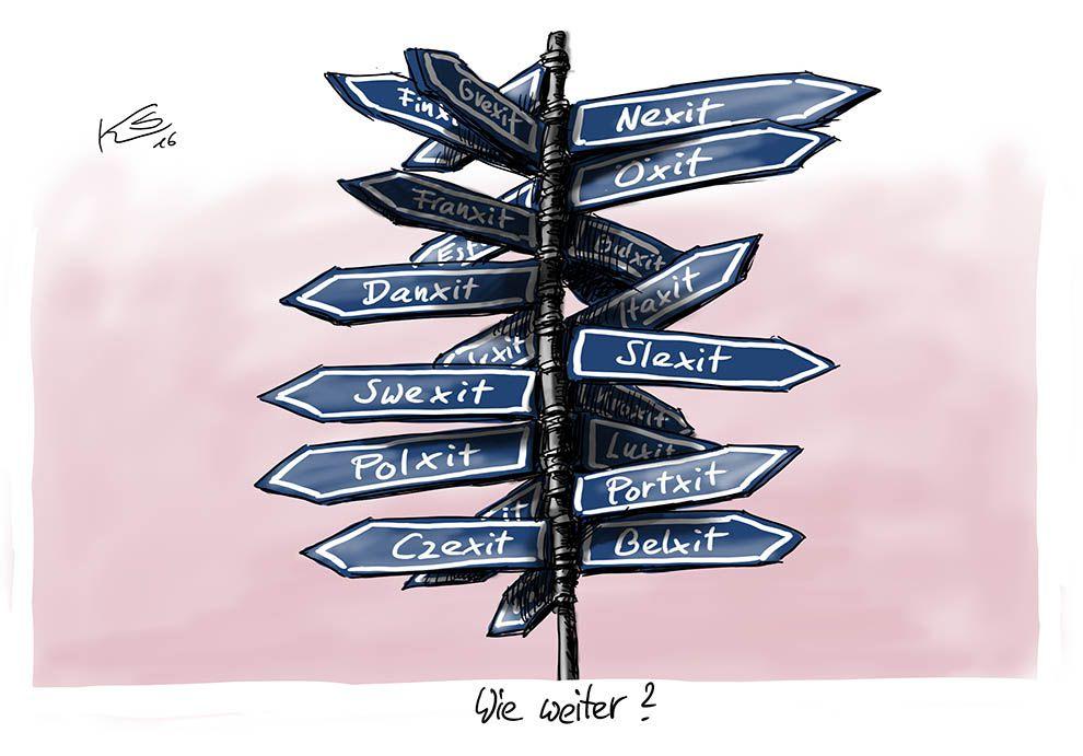 Karikatur vom 26.06.2016