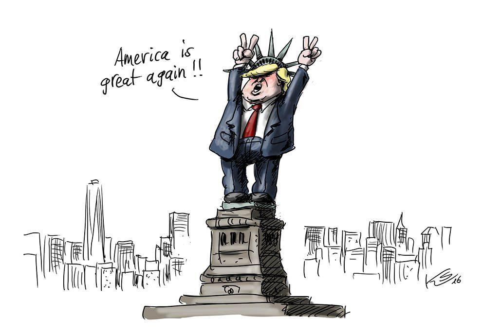 Karikatur vom 09.11.2016