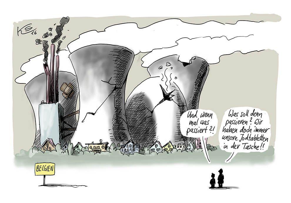 Karikatur vom 29.04.2016