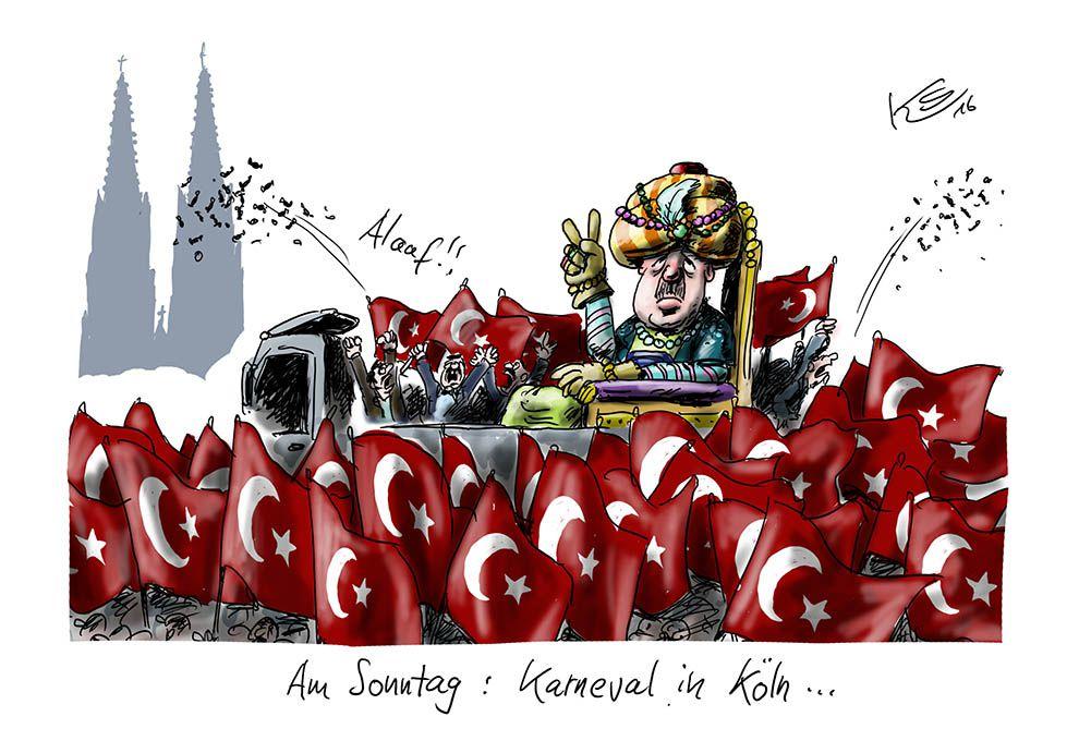 Karikatur vom 29.07.2016