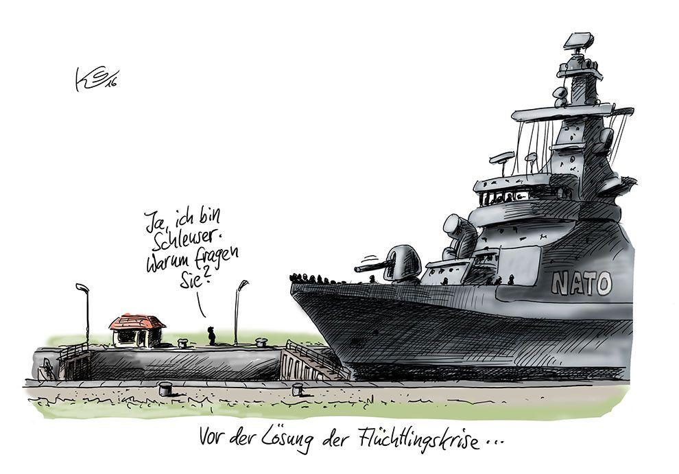 Karikatur vom 12.02.2016