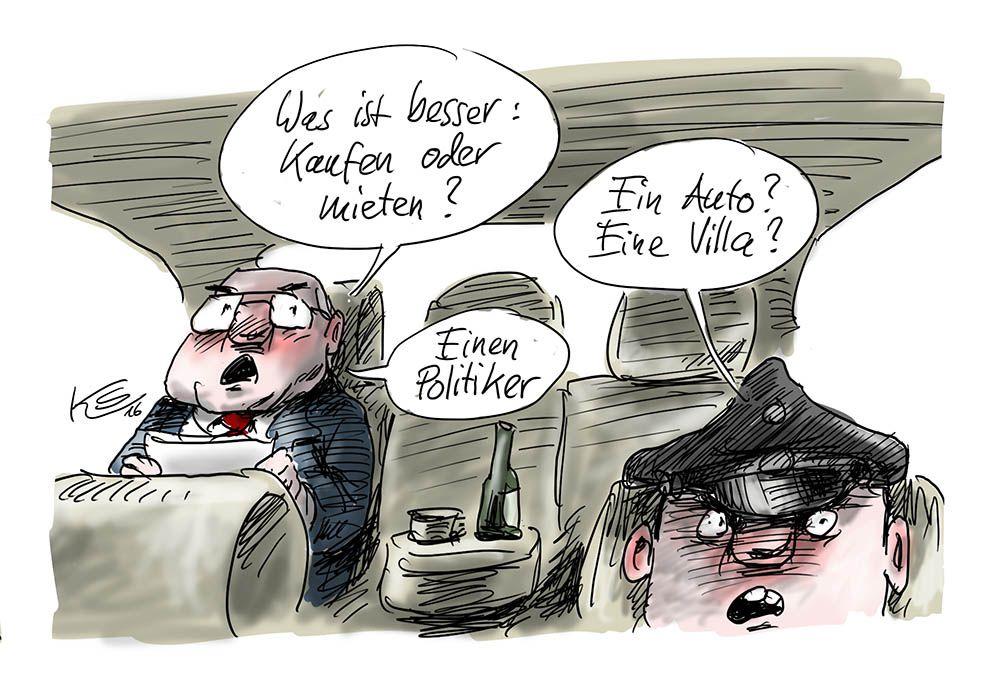 Kartikatur von Klaus Stuttmann