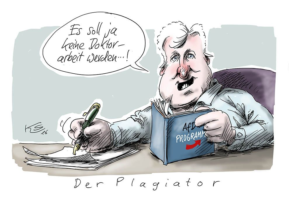 Karikatur vom 22.12.2016