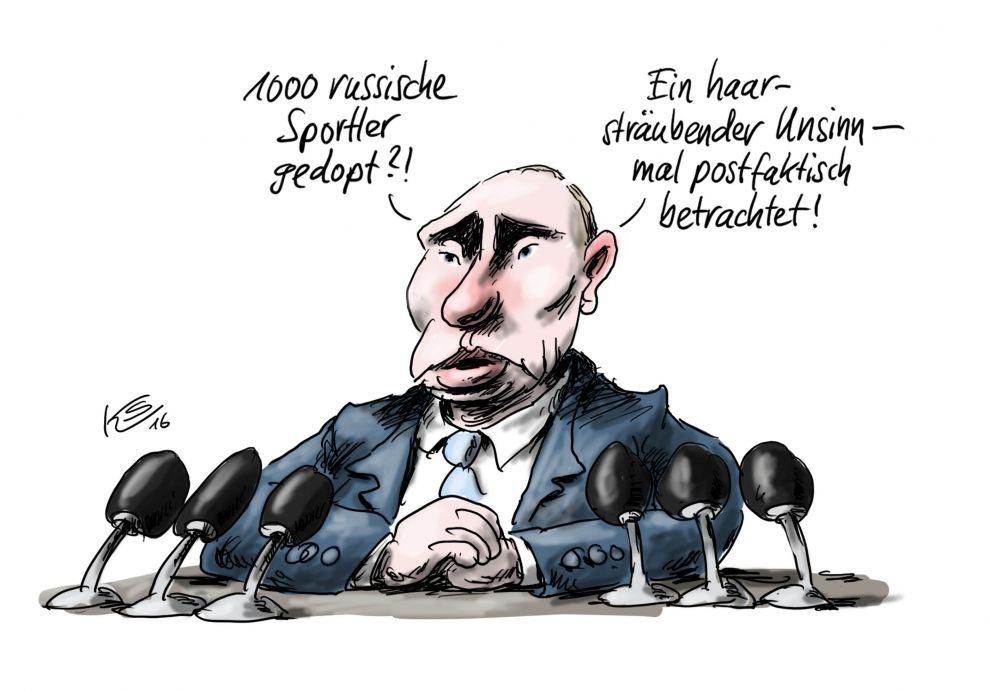 Karikatur vom 09.12.2016