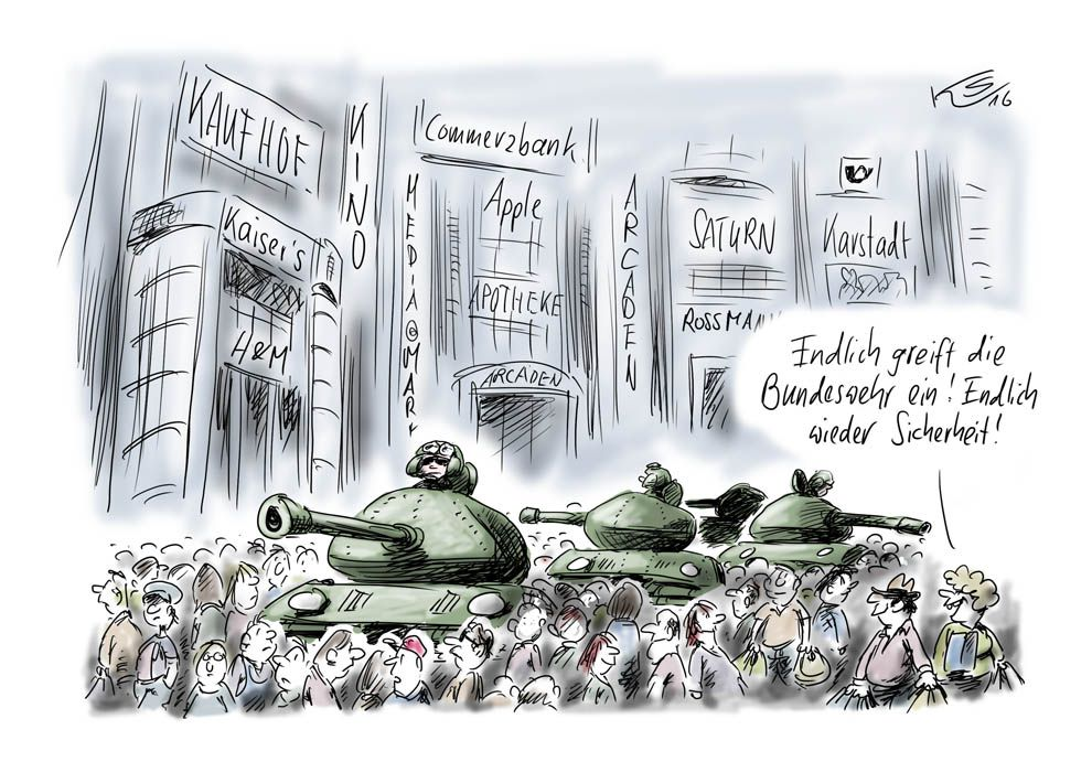 Karikatur vom 27.07.2016