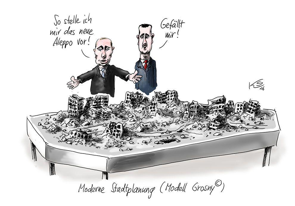 Karikatur vom 11.02.2016