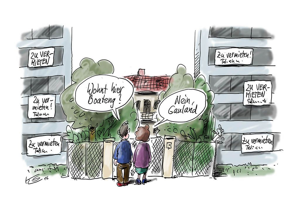 Karikatur vom 29.05.2016