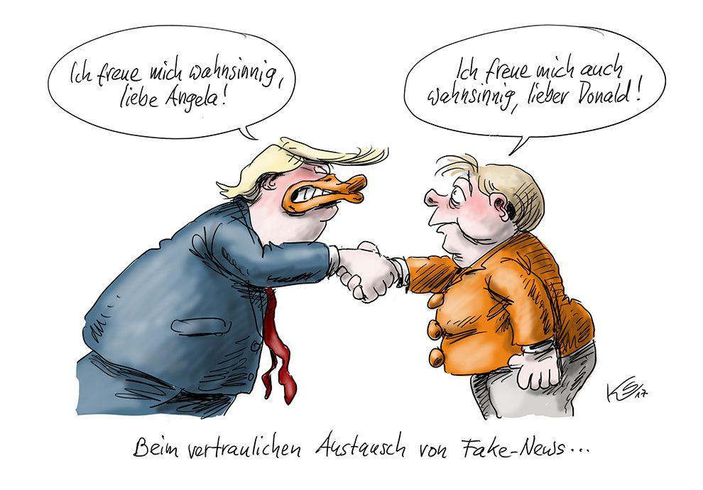 Karikatur vom 13.03.2017