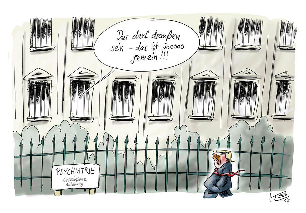 Karikatur vom 24.02.2017