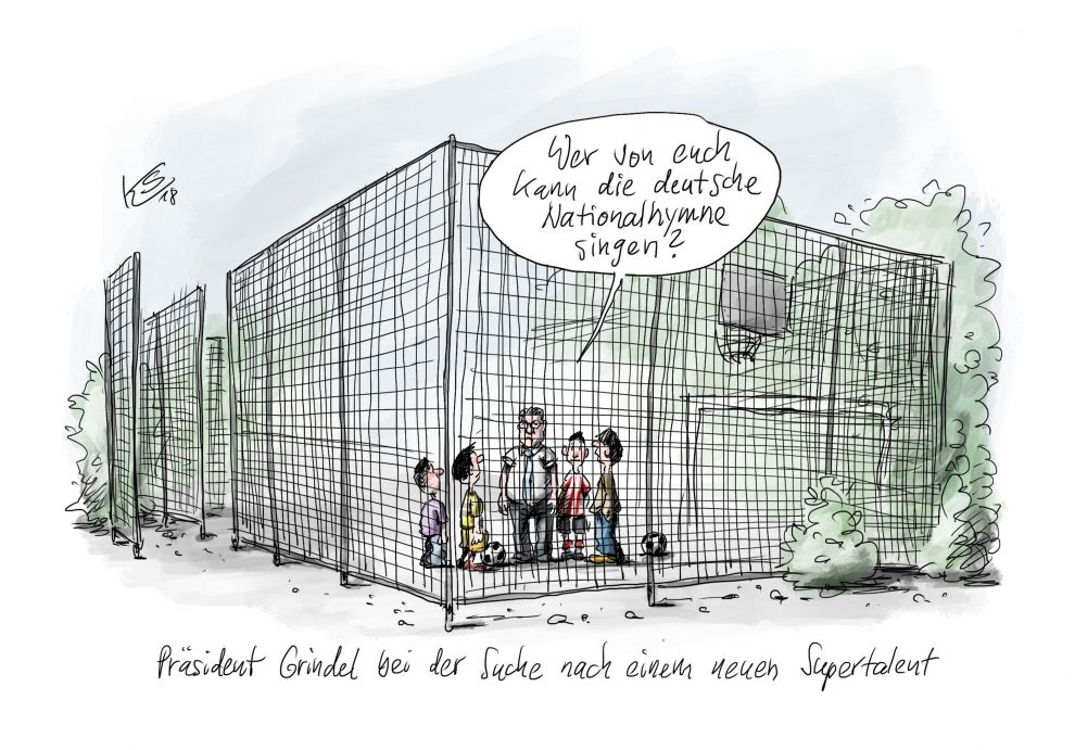 Karikatur vom 23.07.2018