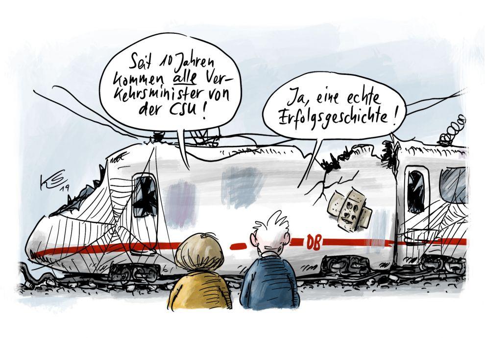 Karikatur vom 18.01.2019