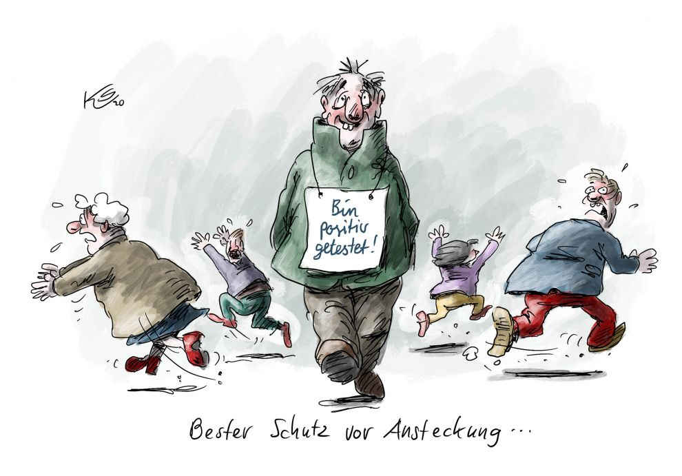 Karikatur vom 10.03.2020