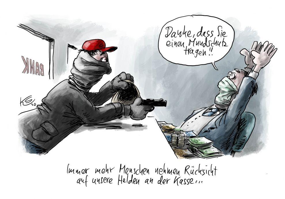 Karikatur vom 06.04.2020