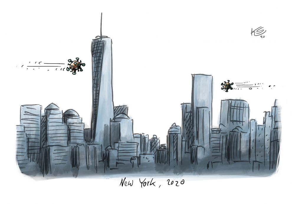 Karikatur vom 07.04.2020