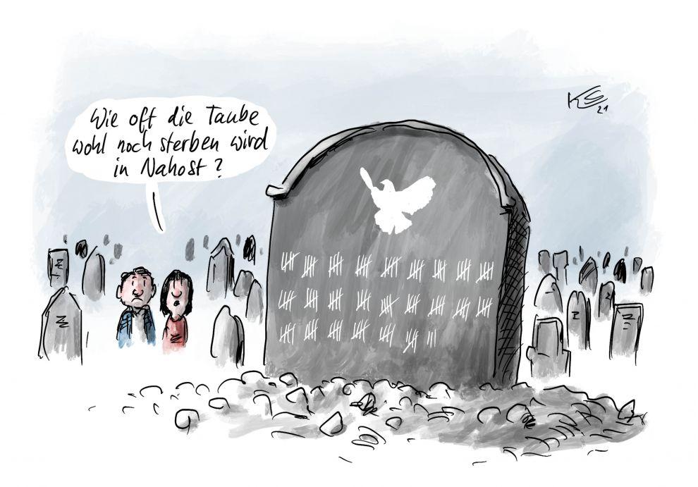 Karikatur vom 21.05.2021